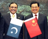 China & Pakistan against India
