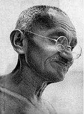 M.K. Gandhi in 1929