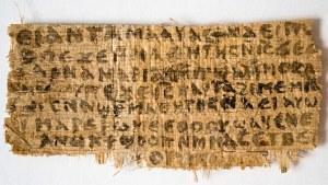 Jesus's Wife Papyrus