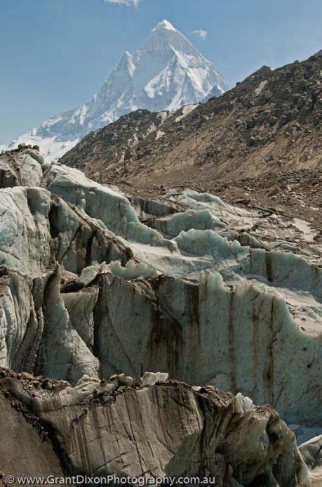 Shivling Mountain & Gangotri Glacier in Uttarakhand