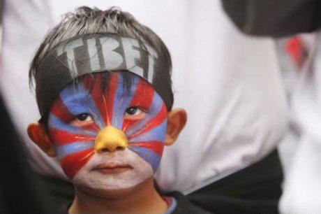 Tibetian Protester
