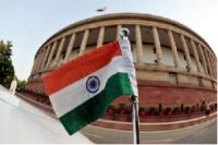 India Tricolour & Parliament House
