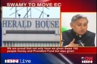 Congress defending Gandhi take-over of National Herald properties