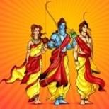 Sita, Rama & Lakshmana