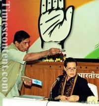 Oscar Fernandes & Sonia Gandhi