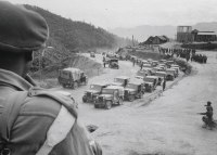 Indian Army on the NEFA border in 1962