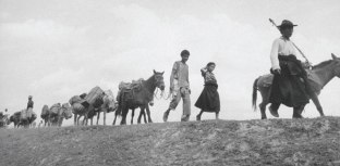 Arunachal Pradesh locals fleeing the Chinese in 1962
