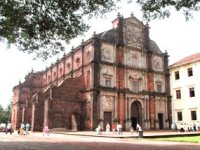 Basilica of Bom Jesus: Built in 1594 after the destruction of a Shiva temple on the site.