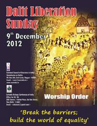Dalit Liberation Poster 2012