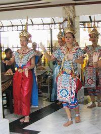 Erawan Temple Dancers