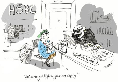 HSBC: Laundering drug money!
