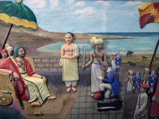 De Lannoy surrenders to Raja Marthanda Varma at Colachel