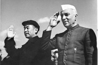 Nehru & Zhou Enlai