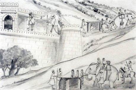 Image result for Sivaji's in Benaras sketch