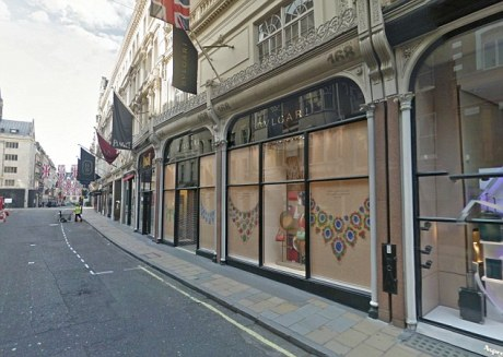Vatican Property: 169 Bond Street, London