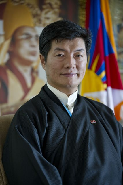 President Lobsang Sangay of the Central Tibetan Administration
