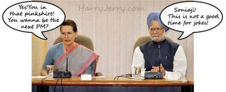 Manmohan Singh & Sonia Gandhi