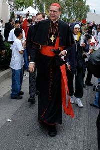 Cardinal Roger Mahony is the ex-Archbishop of Los Angeles