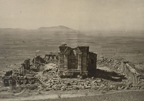 Surya Temple at Marttand, Kashmir from Hardy Cole's Archaeological Survey of India Report 1869