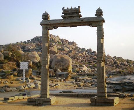 The King's Balance at Vijayanagar