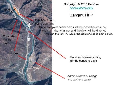 Chinese build dams across the Brahmaputra in Tibet