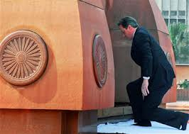 British PM Cameron at Jallianwala Bagh