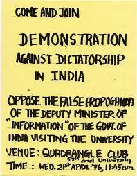 Dictatorship in India?