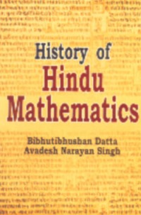History of Hindu Mathematics