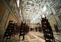 Sistine Chapel where the papal election is held.