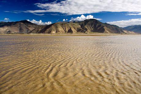 Yarlong Tsangpo (Brahmaputra) River in Tibet