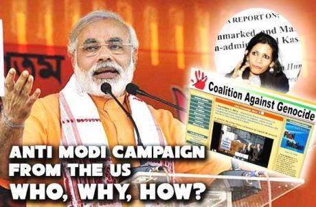 Anti-Modi campaign from US