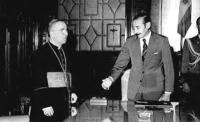 Archbishop Bergoglio & Dictator Videla