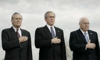 Dick Cheney, George W. Bush & Donald Rumsfeld