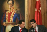 Hugo Chavez & Nicolas Maduro