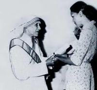 Mother Teresa & Michele Duvalier of Haiti