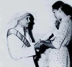 Mother Teresa & Michele Duvalier of Haiti
