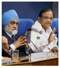 Montek Ahluwalia & P. Chidambaram