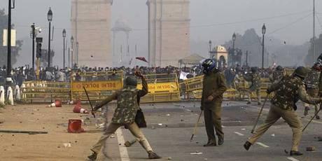 Anti-Rape India Gate Protest 2013