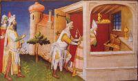 Hulagu interns the Caliph Al-Musta'sim among his treasures and starves him to death.
