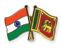 India & Srilanka Flags
