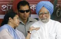 Mamata Banerjee & Manmohan Singh