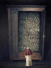 Pope & Skulls: The Church has killed more innocents than any other institution.