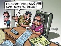 Rahul is scared!