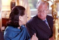 Sonia Gandhi & King Albert of Belgium