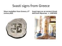 Svasti in ancient Greece