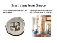 Svasti in ancient Greece