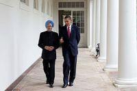 Barack Obama & Manmohan Singh