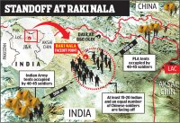 Chinese intrusion into Ladakh