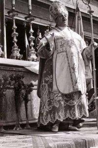 Cardinal Clemente Micara the Vicar General of Rome