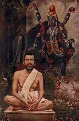 Sri Ramakrishna and Ma Kali at Dalshineshwar